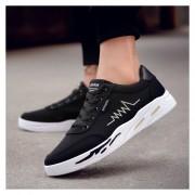 Zapatos Para Correr Fashion-Cool Para Hombre-Negro