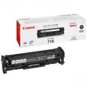 Тонер касета Canon CRG-718BK, 2662B002AA