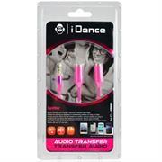 iDance Connect-C2 3.5mm 1-2 Splitter - Pink,