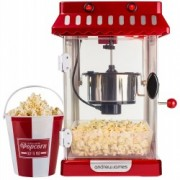 Aparat de facut popcorn Andrew James Retro Style AJ000629, Vas de Inox