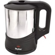 Skyline VTL 5004 1000W Stainless Steel Cordless Electric Kettle (1.7L) Electric Kettle(1.8 L, Silver)