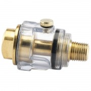 "Draper 22317 1/4"" BSP In Line Mini Oiler"