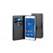 Husa Vertical Book Sony Xperia Z3 Compact Black BeHello