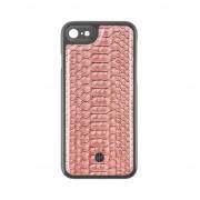 Marvelle MAGNETO ORIGINAL Coque Reptile iPhone 7 8 Nø301 Rose Cendre - Rose Gris