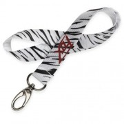 FOX Strung Out Shorty Lanyard -57689 White