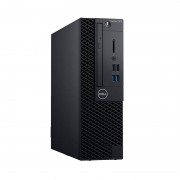 Sistem desktop Dell OptiPlex 3070 SFF Intel Core i3-9100 8GB DDR4 256GB SSD Windows 10 Pro 3Yr BOS Black