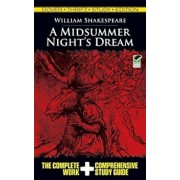 A Midsummer Night's Dream Thrift Study Edition, Paperback/William Shakespeare