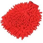 Car Cleaning Glove Cloth Micro Fibre Hand Wash ( 1 pcs )