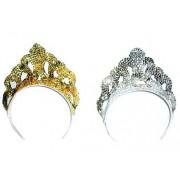 Tiara argintie printesa - Cod 53000
