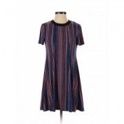 BCBGeneration Casual Dress - A-Line: Blue Print Dresses - Used - Size X-Small