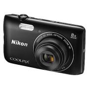 NIKON COOLPIX A300 Zwart + 16GB SD-kaart + Tas
