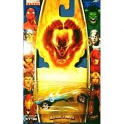 Marvel Heroes Die Cast Car 2006 Series - HUMAN TORCH