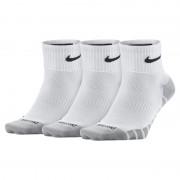 Chaussettes de training Nike Dry Lightweight Quarter (3 paires) - Blanc