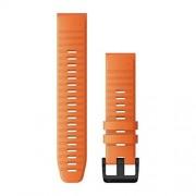 Garmin 010-12864-01 Band Correa QuickFit de Silcona Naranja (26mm), color Naranja,, pack of/paquete de 1