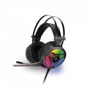 Headset Gamer RGB H1 PRO Cinza FORTREK
