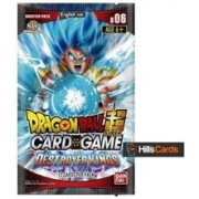 Set Carti Dragon Ball Super Tcg: B06 Destroyer Kings Booster Box 24 Packs
