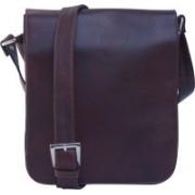 AVES Fashion Messenger Bag(Brown)