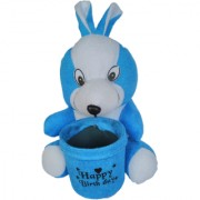 Cute Rabbit Pen Stand 2 In 1 Soft Toy