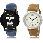 The Shopoholic Black White Combo Best Combo Pack Black And White Dial Analog Watch For Boys Formal Watches For Men