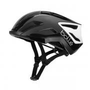 Bollé biciklistička kaciga EXO, Shiny Black & White, crno bijela, 52-55 cm