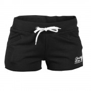 Gorilla Wear Womens New Jersey Sweat Shorts Black - L