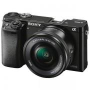 Sony ILCE-6000, 16-50mm, 24,3MP, LCD, crni