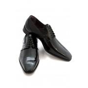 Pantofi Carlo Pignatelli Classico SPAZZOLATO NERO + SHARMS NERO
