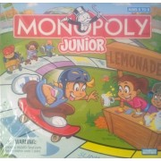 Monopoly Junior Specially Designed For Ages 5 To 8.