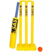 SAS Kids Cricket Set for Fun and Learning Cricket in Multicolour - Pack of 8 Small size For Kids of age 5-7 years With Carry Bag