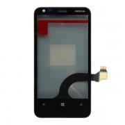 Estrutura para a parte da frente do Nokia Lumia 620 - Preto