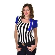 Mayo Chix női rövid ujjú body ABBY m2019-1Abby0417/fekete-feher