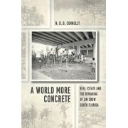 A World More Concrete: Real Estate and the Remaking of Jim Crow South Florida, Paperback/N. D. B. Connolly