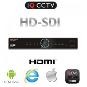 HD SDI DVR pre 8 kamier FULL HD, HDMI, VGA