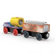 Blizzard Search & Rescue Cargo Cars - Thomas & Friends Wooden Railway Tank Train Engine - SKU # DGK78