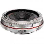Pentax 40mm F/2.8 HD DA Limited - ARGENTO - 4 ANNI DI GARANZIA