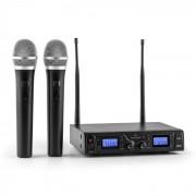 Malone Duett Pro V1 Conjunto de micrófono inalámbrico UHF 2 canales50m de alcance (BR4-Duett-Pro-V1)