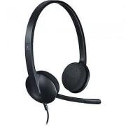 Logitech PC headset USB Corded, Stereo Logitech H340 On-ear