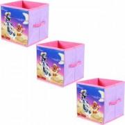 Tom Jerry Toys Organizer (Set of 3 pcs) Storage Box for Kids Small