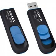 USB Flash Drive 32Gb - A-Data DashDrive UV128 USB 3.0 Blue AUV128-32G-RBE