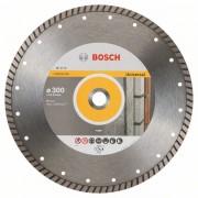 Диск диамантен за рязане Standard for Universal Turbo, 300 x 22,23 x 3 x 10 mm, 1 бр./оп., 2608602696, BOSCH
