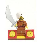 MinifigurePacks: Lego Adventurers - Scorpion Palace Bundle (1) Maharaja Lallu (1) Figure Display Base (1) Figure Accessories (Scimitar Sword)