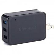 tronsmart TS-WC3PC carga rapida cargador de pared 2.0 de 3 puertos - gris negro