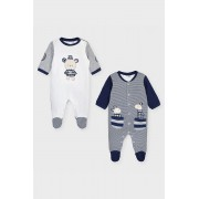 Mayoral Newborn - Costum bebe 55-86 cm (2-pack)