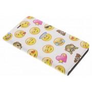 Emoji Smiley Design Booklet voor de Huawei Mate 9