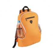 Merkloos Voordelige backpack rugzak oranje 21,5 liter