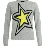 High Society / Kelly High Society Women Pullover IVY light grey/lime