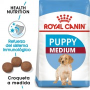 15kg Medium Junior Royal Canin pienso para perros