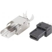 Mufa mini-USB B 2.0, 4 pini, 10120251 BKL Electronic