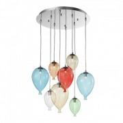 Lampa suspendata baloane - Clown SP8 Multicolor
