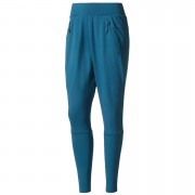 adidas Women's ZNE Tapered Training Pants - Blue - S - Blue